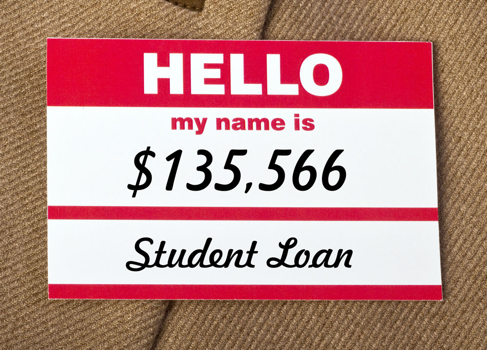 Hello my name is student loan